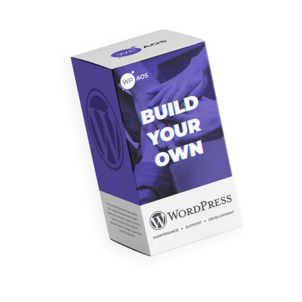 Create your own WooCommerce maintenance plan