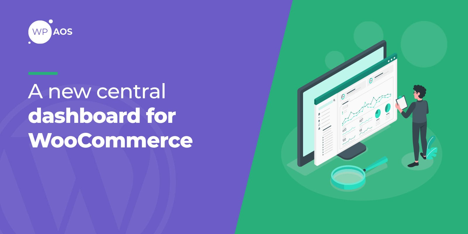 woocommerce dashboard, wordpress maintenance, support, wpaos