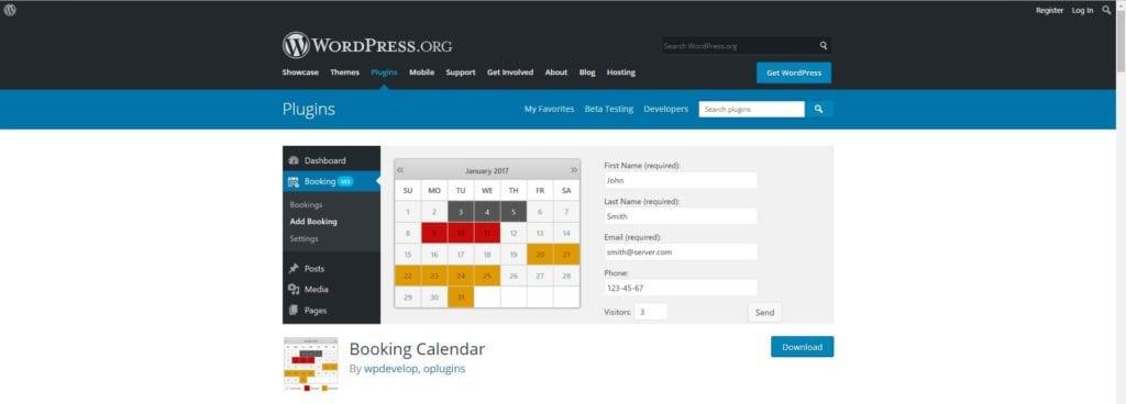 Calendar plugin post img