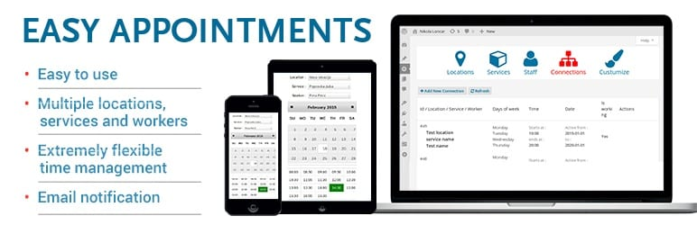 Easy appointments banner