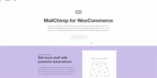 MAilchimp plugin for WooCommerce