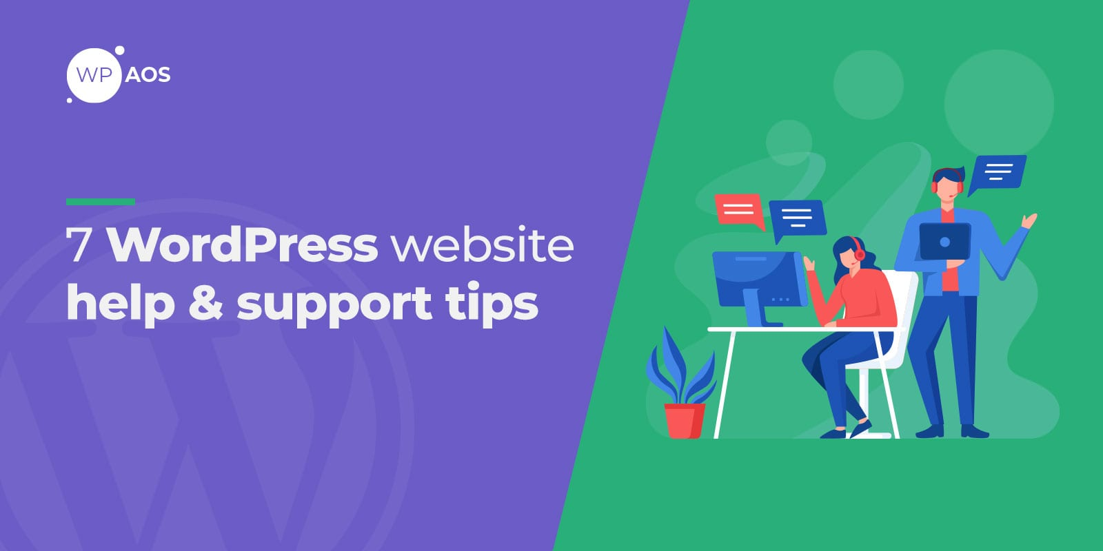 WordPress Help, Support Tips, wpaos