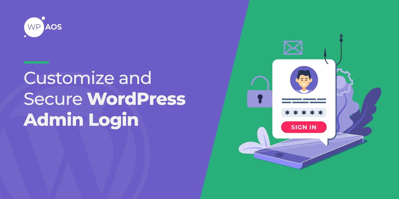 Customize, Secure WordPress Admin Login, wpaso