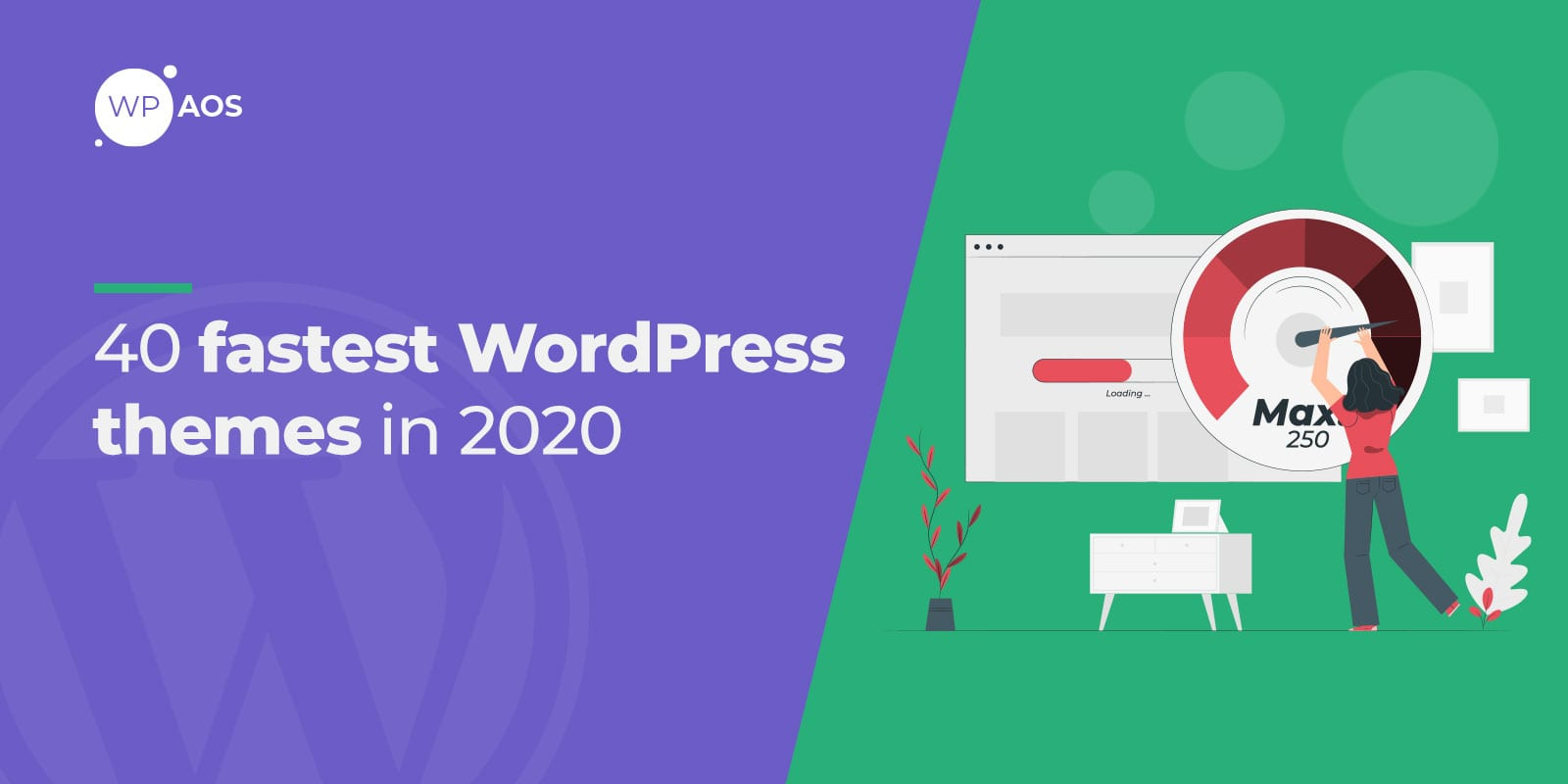 Fastest WordPress Themes, wpaos