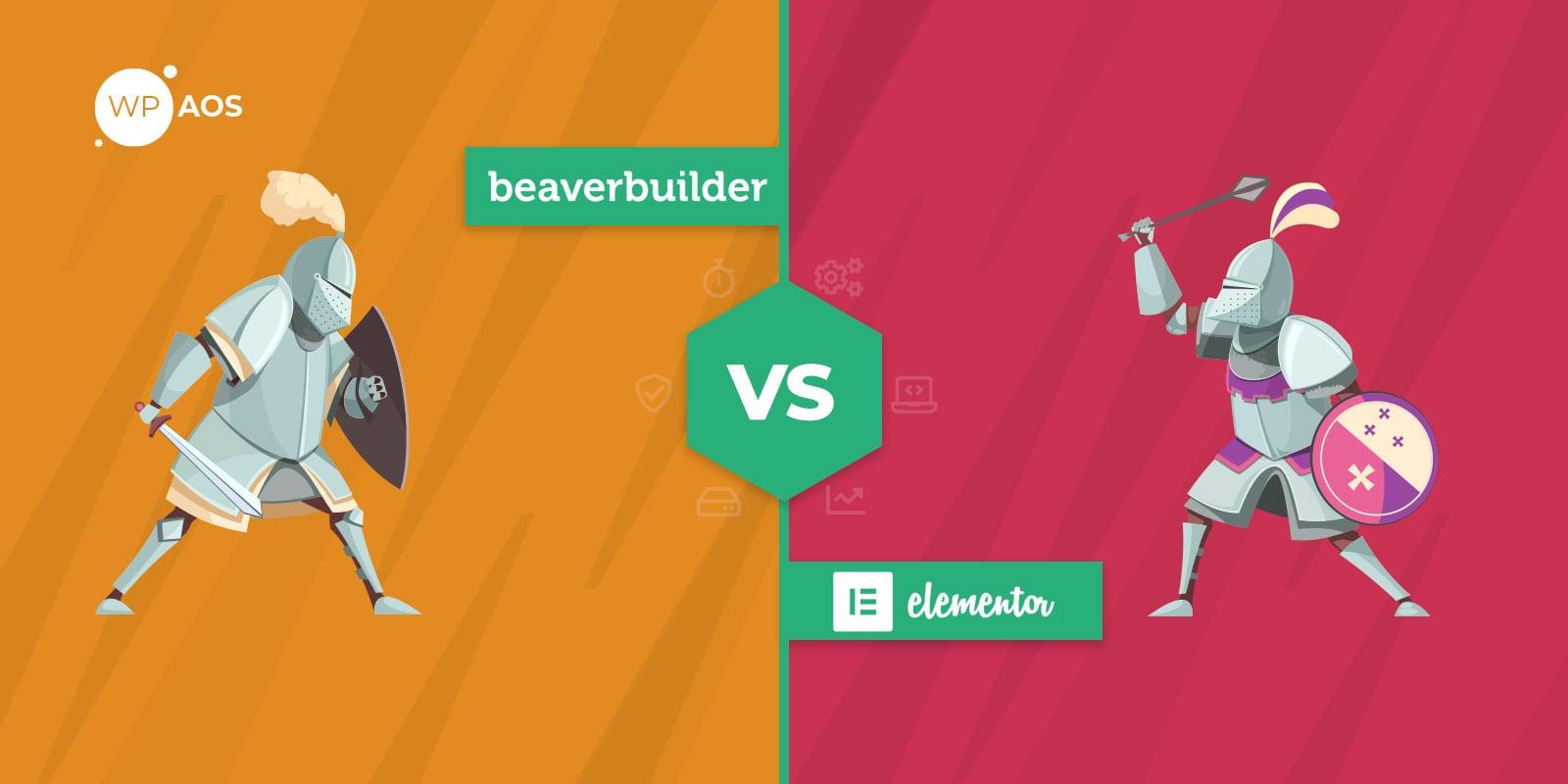Beaver Builder VS Elementor, WordPress Page Builder, wpaos