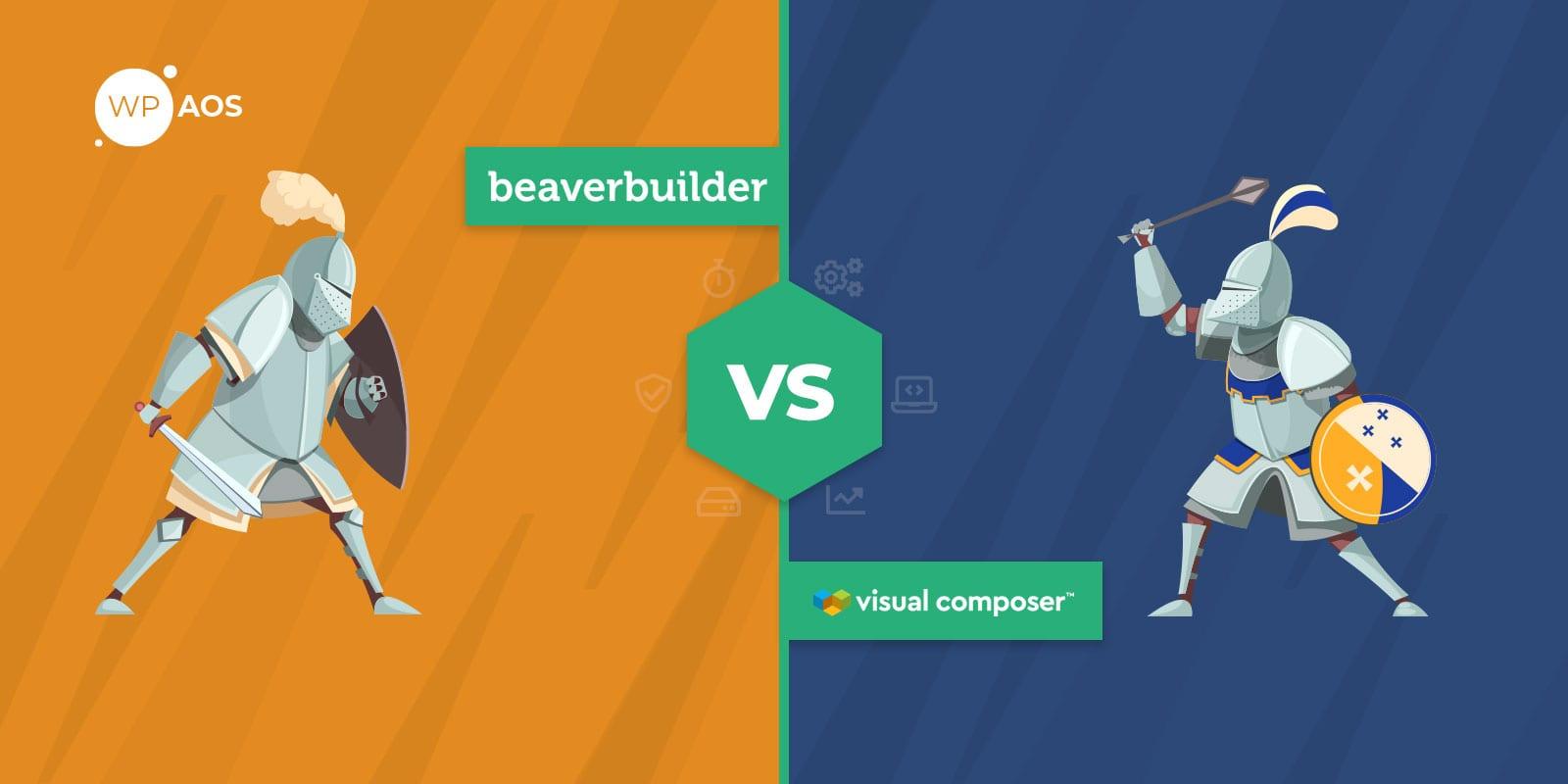 Beaver Builder VS Visual Composer, WordPress Page Builder, wpaos