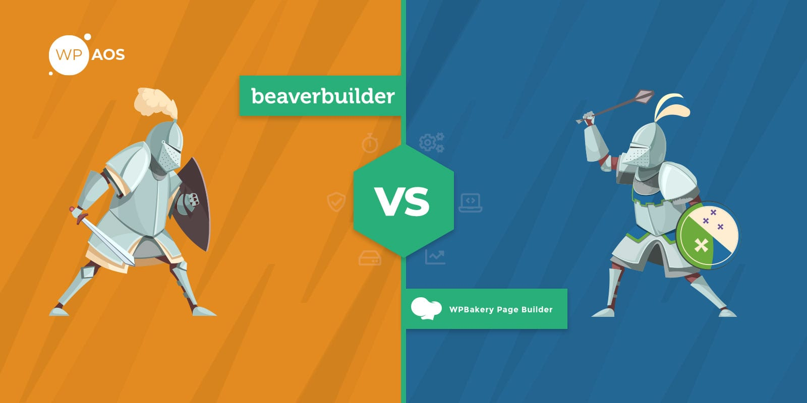 Beaver Builder VS WPBakery, WordPress Page Builder, wpaos