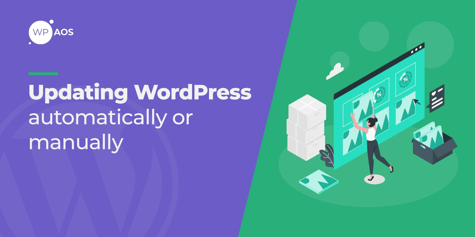Updating WordPress, Websit Updates, wpaos