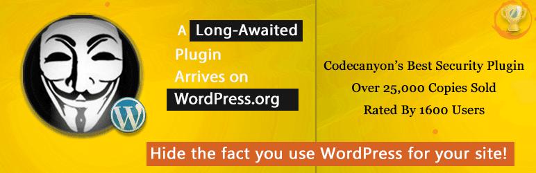 WordPress HHide my WP security plugin