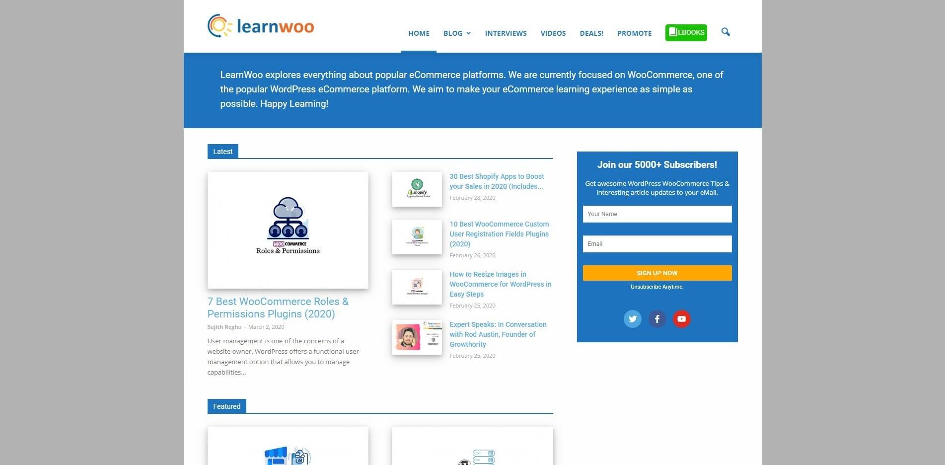 Learn WordPress with Learnwoo