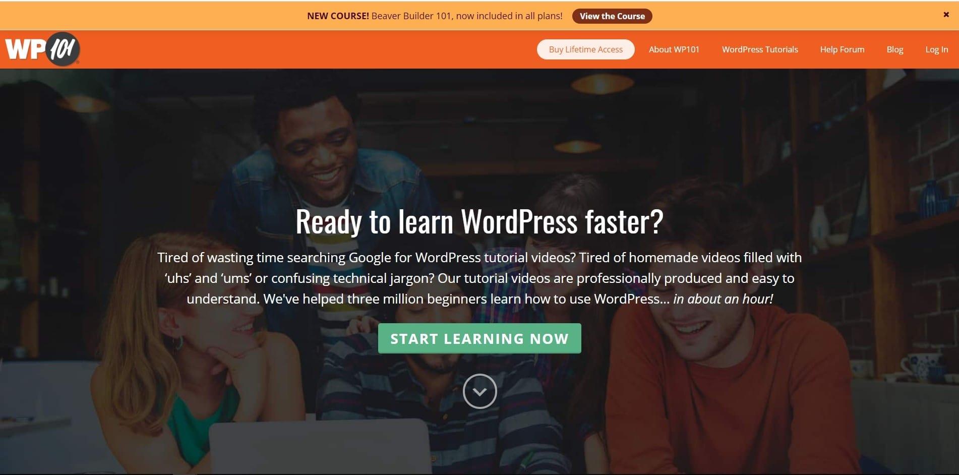 Learn WordPress with WP101