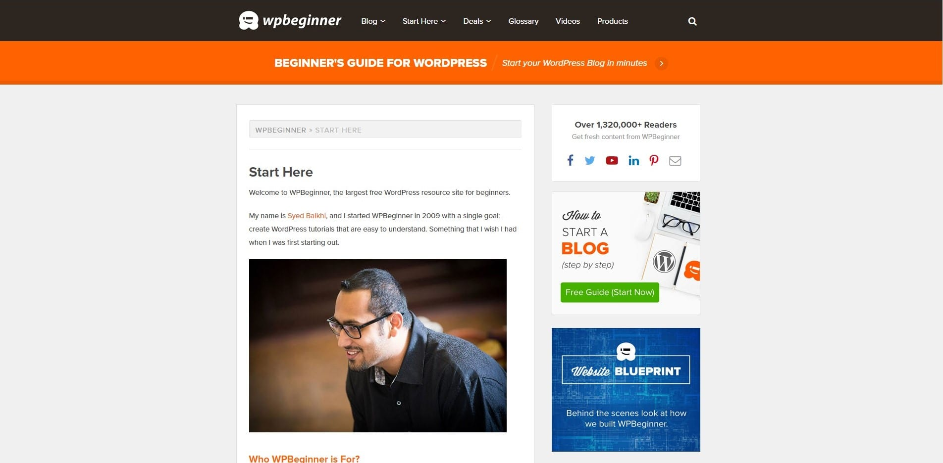 Learn WordPress with WP begginer