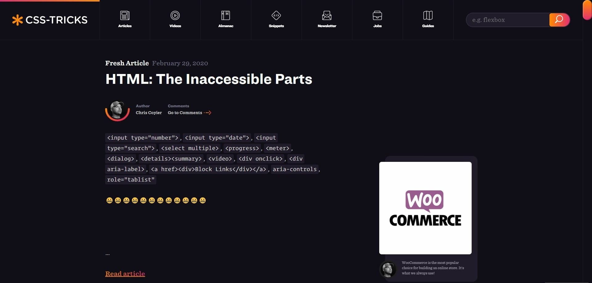 Learn WordPress with CSS tricks