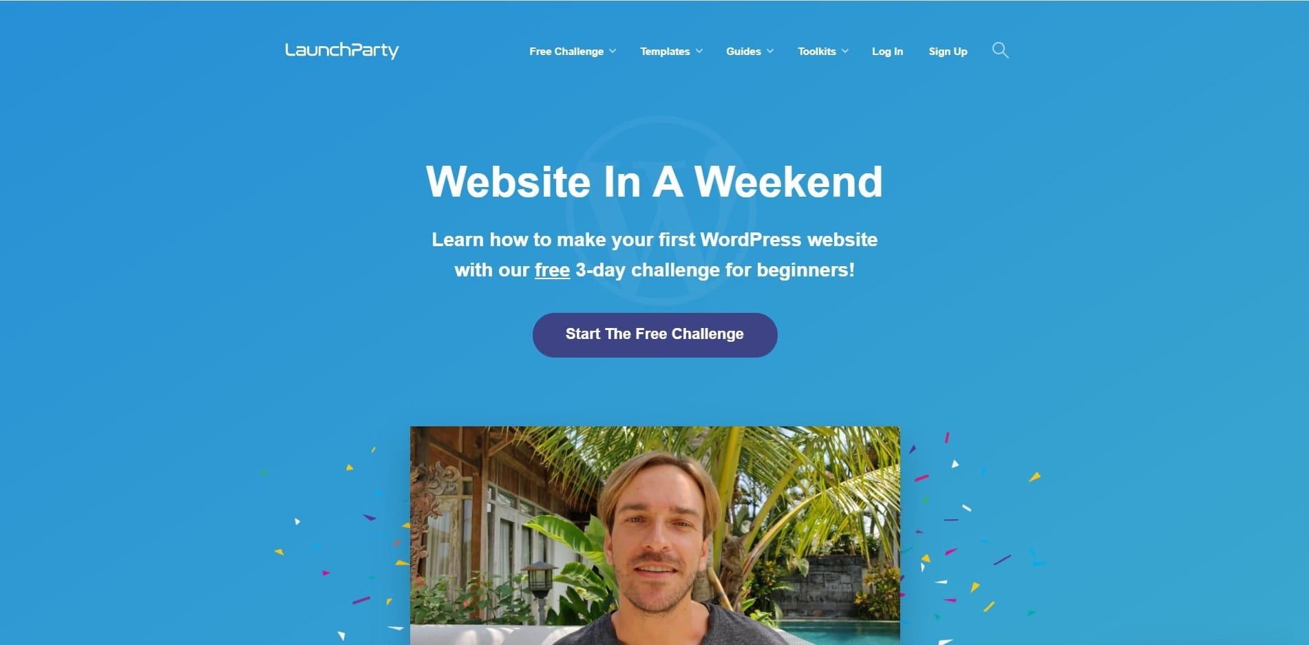 Learn WordPress with Launch party