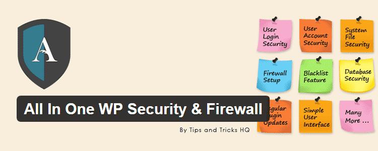 WordPress All in One WP Security plugin