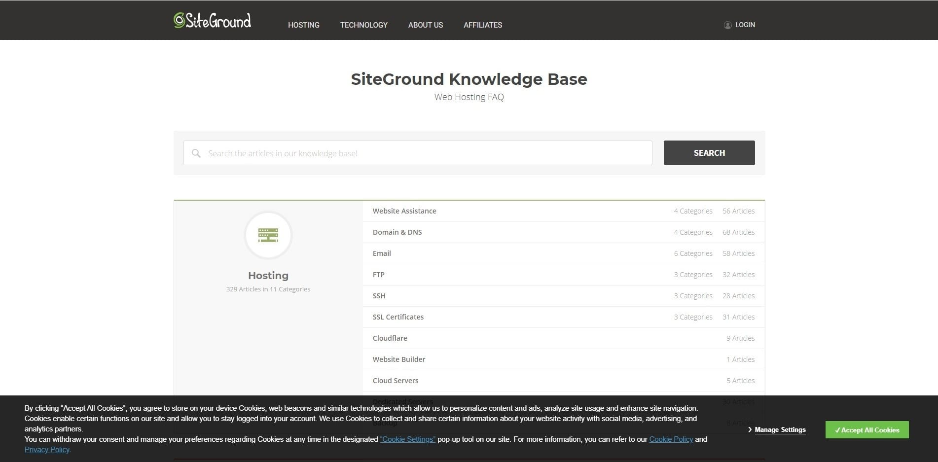 Learn WordPress with WP siteground