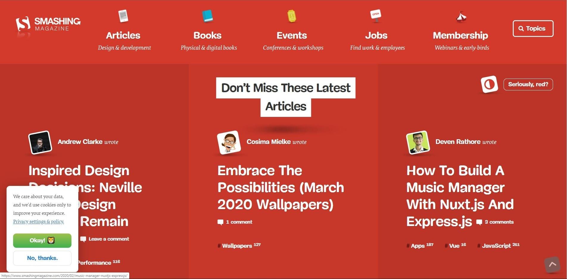 Learn WordPress with Smashing Magazine