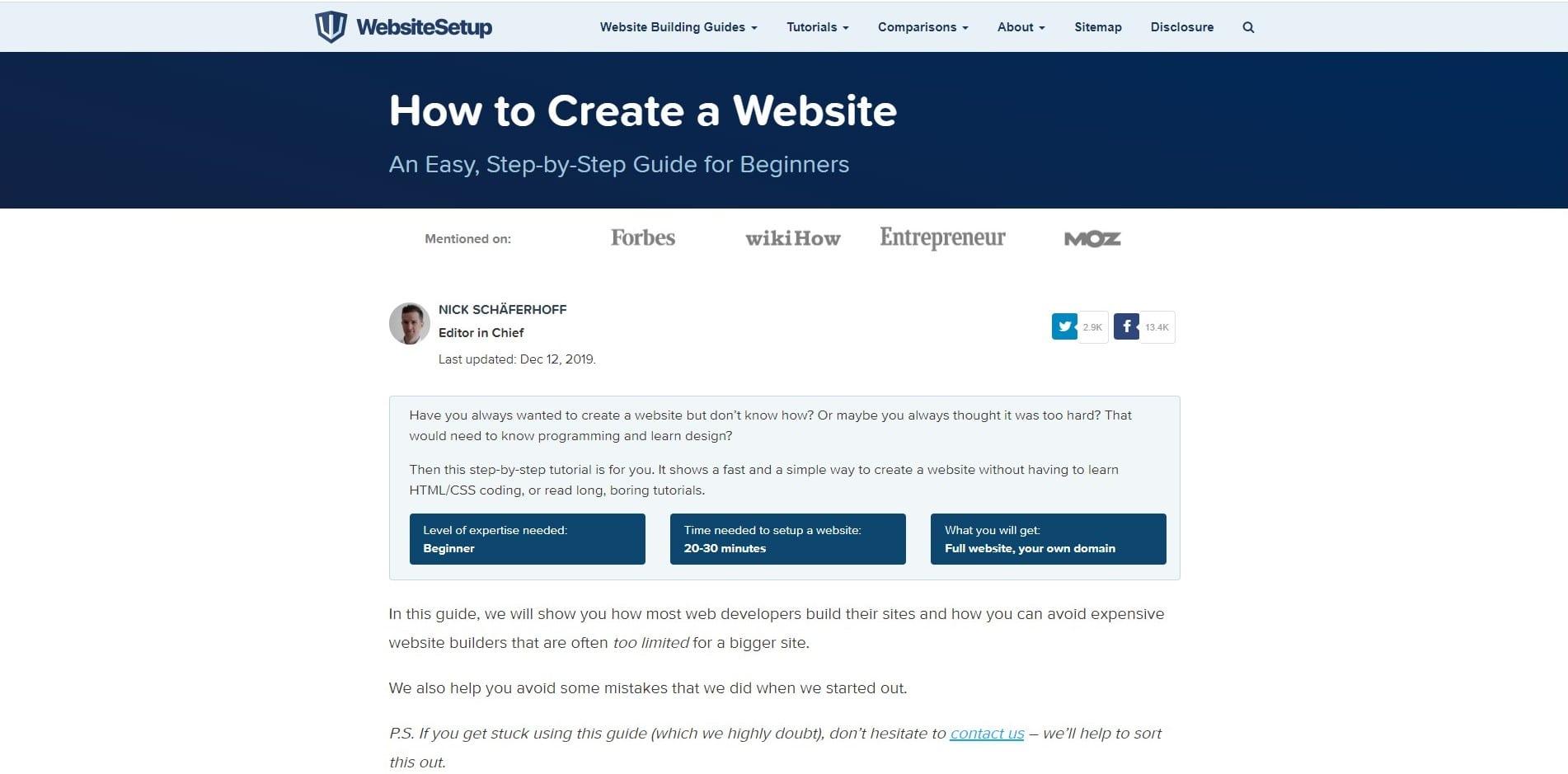 Learn WordPress with Website Setup