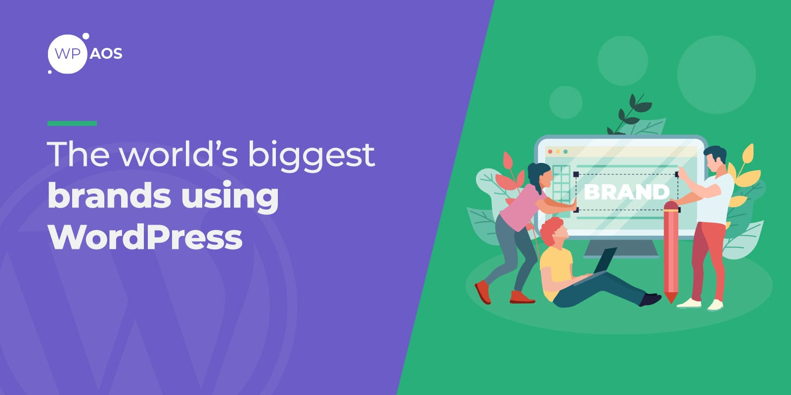 Biggest brands using WordPress