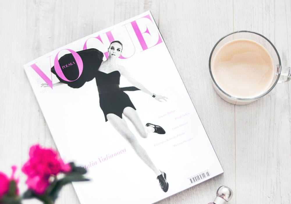 Vogue uses WordPress