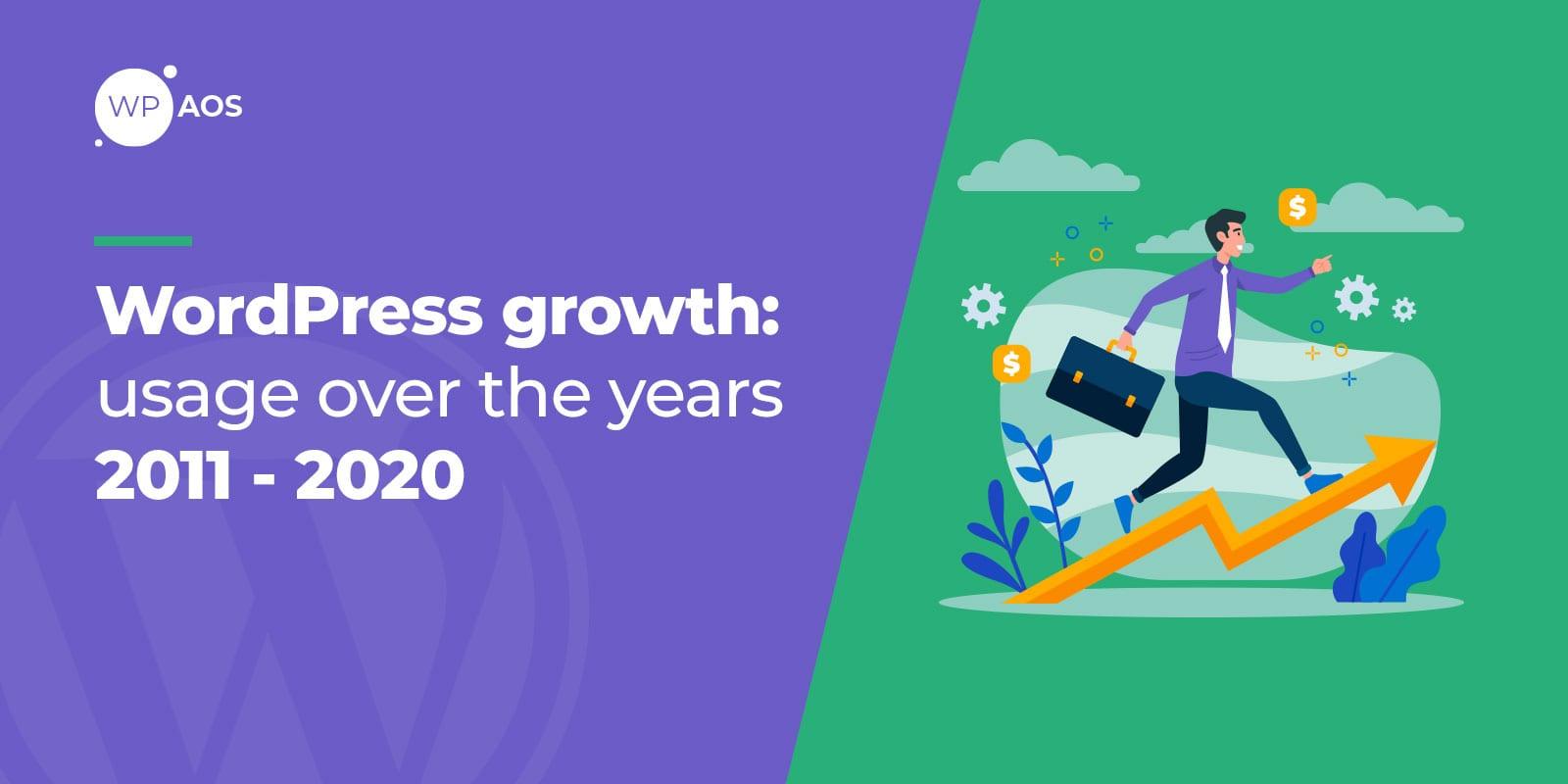 wordpress growth, build a website, wpaos