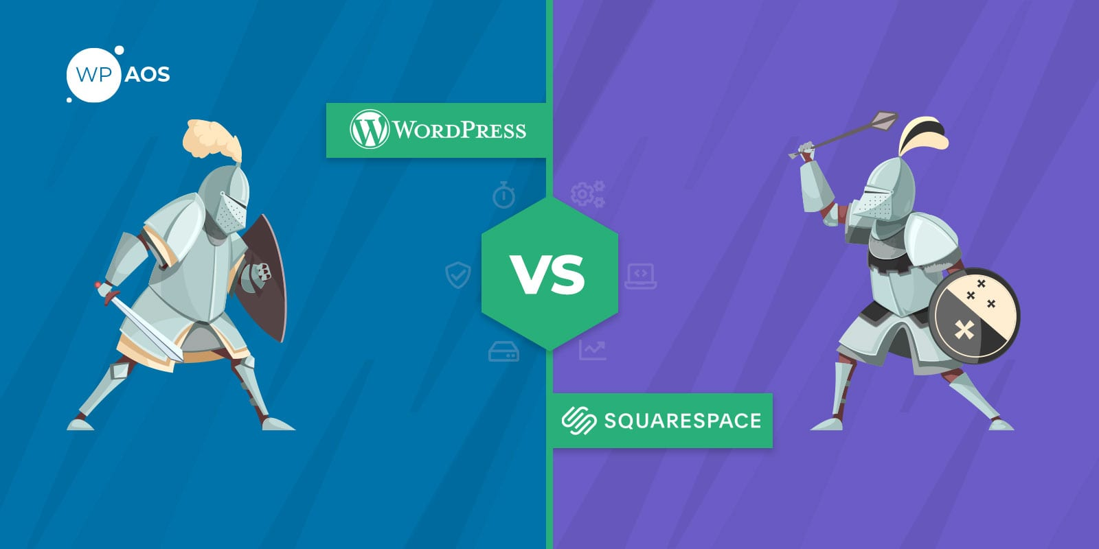 WordPress, Squarespace, Infographics, Website Builder, wpaos