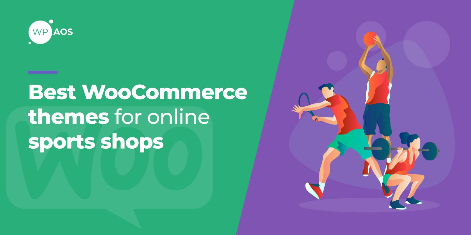 Best WooCommerce Themes for Online Sports Shops, wpaos