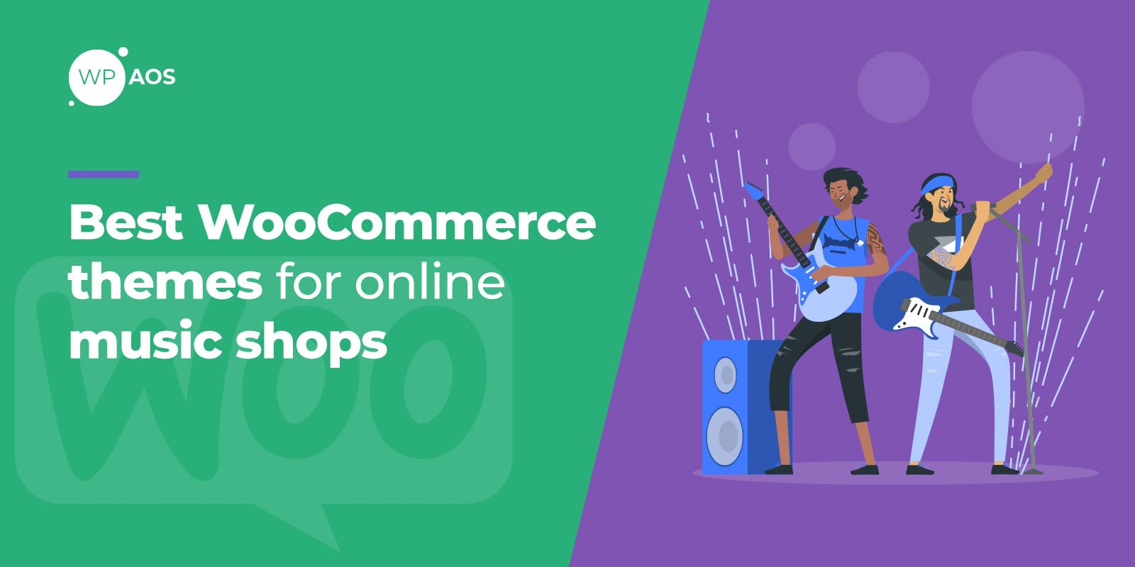 Best WooCommerce Themes for Online Music Shops, wpaos