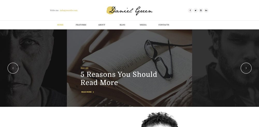 Blog for Writers Theme, Best WooCommerce themes, online books shops, WordPress Maintenance, wpaos