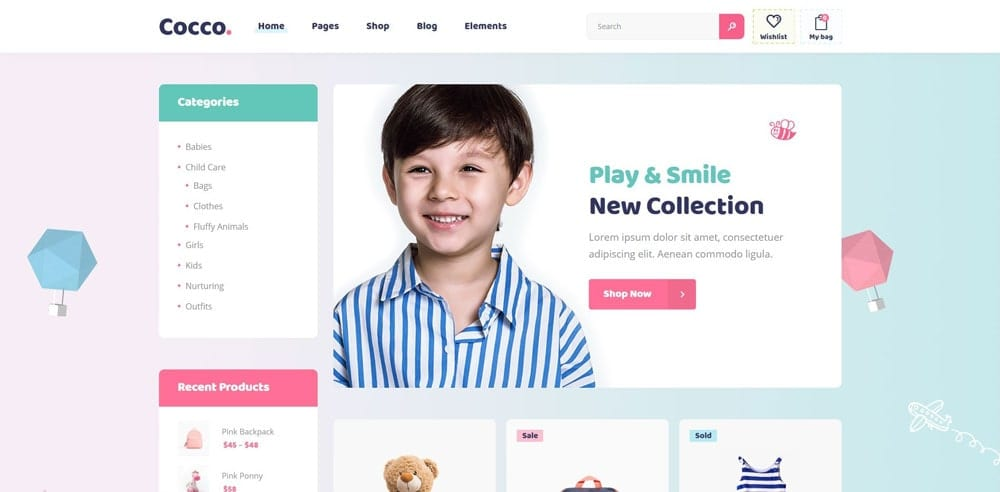 Cocco Theme, Best WooCommerce themes, Clothing Store, WordPress Maintenance, wpaos