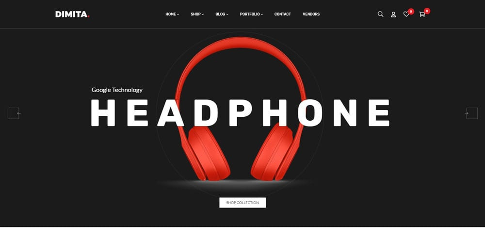 Dimita Theme, Best WooCommerce themes, Electronics Shop, WordPress Maintenance, wpaos