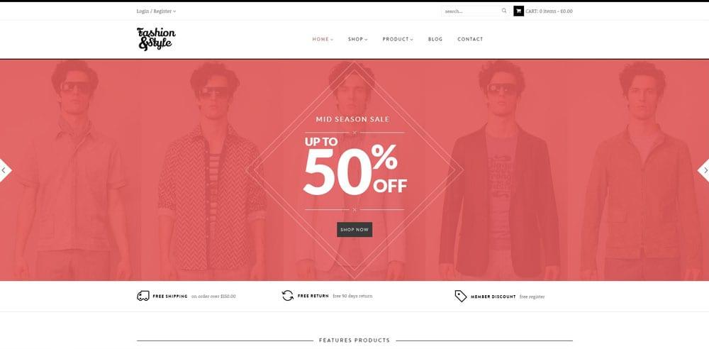 Fashion Theme, WordPress Maintenance, wpaos