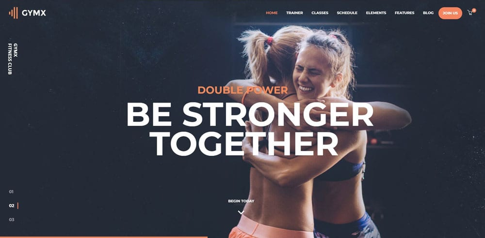 GymX Theme, Best WooCommerce themes, online sports shops, WordPress Maintenance, wpaos