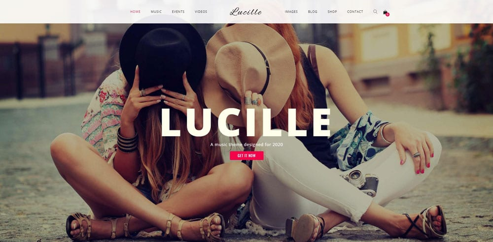 Lucille Theme, Best WooCommerce themes, online music shops, WordPress Maintenance, wpaos