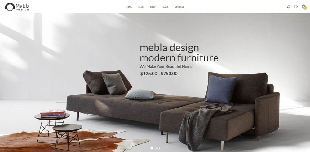 Mebla Theme, Best WooCommerce themes, Bags Accessories Shops, WordPress Maintenance, wpaos