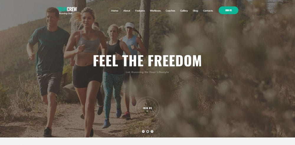RunCrew Theme, Best WooCommerce themes, online sports shops, WordPress Maintenance, wpaos