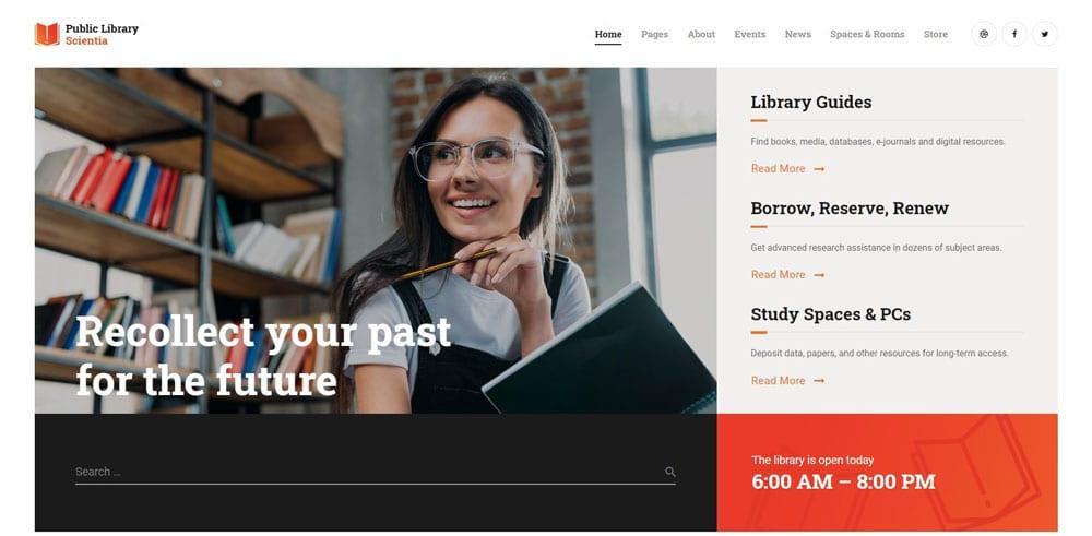 Scientia Theme, Best WooCommerce themes, online books shops, WordPress Maintenance, wpaos