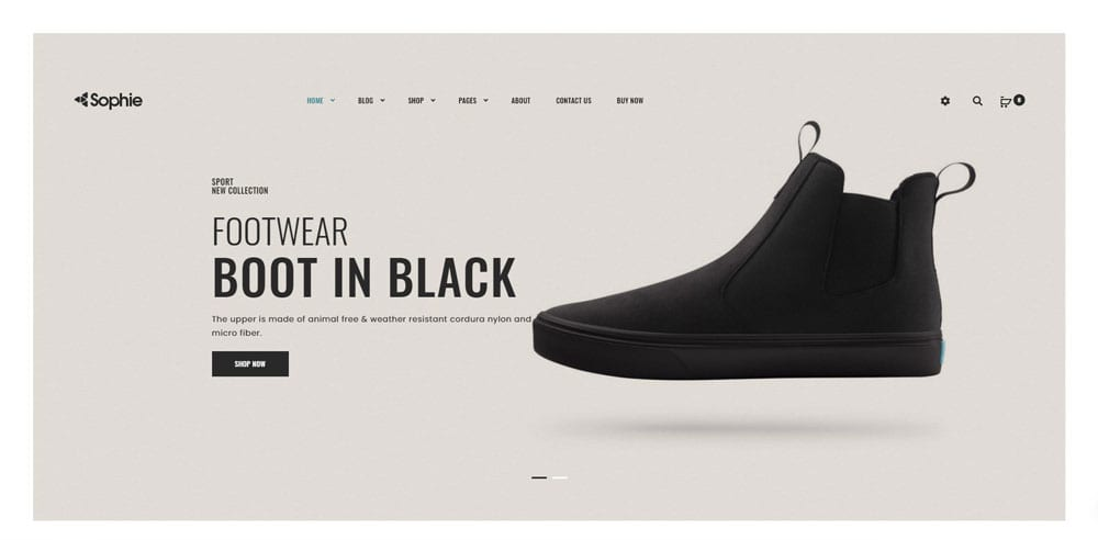 Sophie Theme, Best WooCommerce themes, Bags Accessories Shops, WordPress Maintenance, wpaos