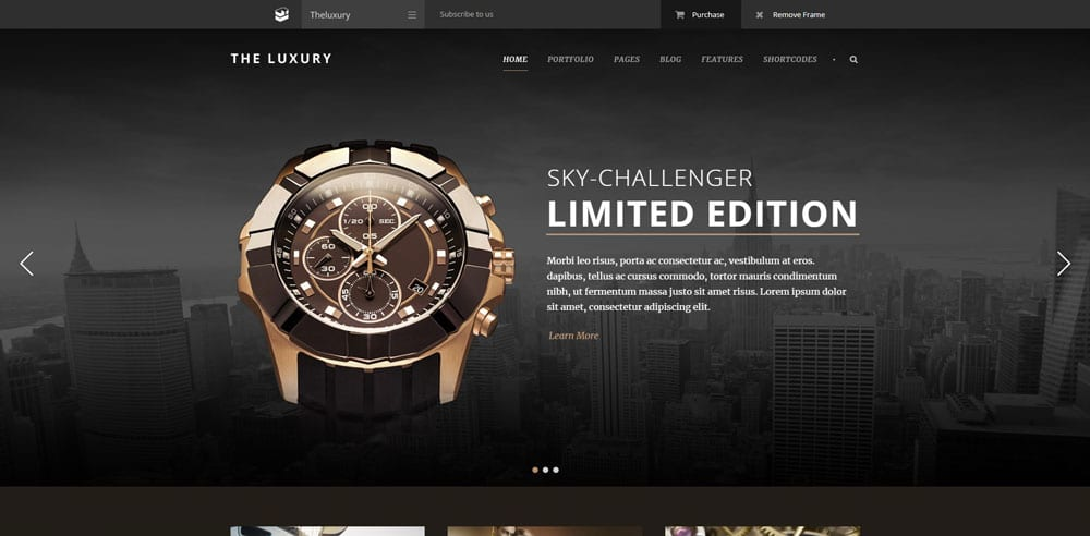 The Luxury Theme, Best WooCommerce themes, Bags Accessories Shops, WordPress Maintenance, wpaos