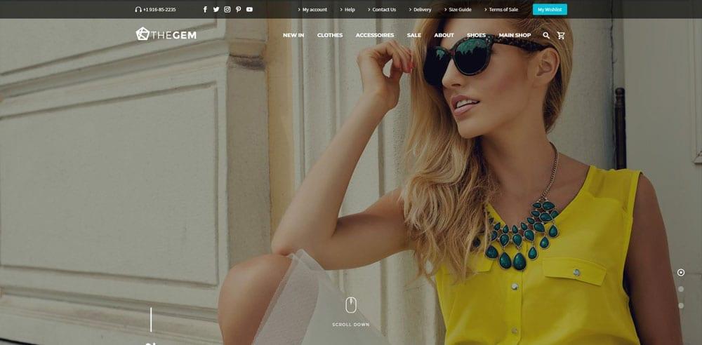 TheGem Theme, Best WooCommerce themes, Clothing Store, WordPress Maintenance, wpaos
