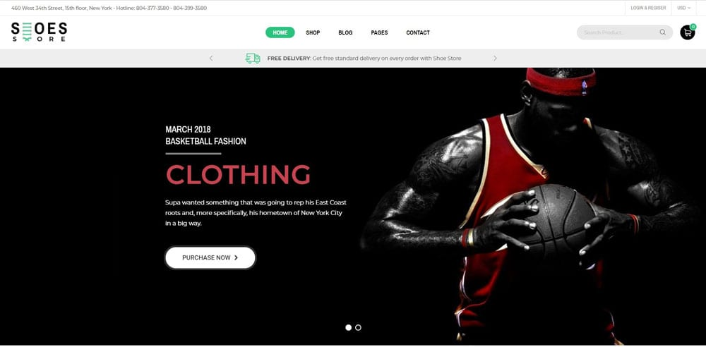 Trueshoes Theme, Best WooCommerce themes, Shoe Shop, WordPress Maintenance, wpaos