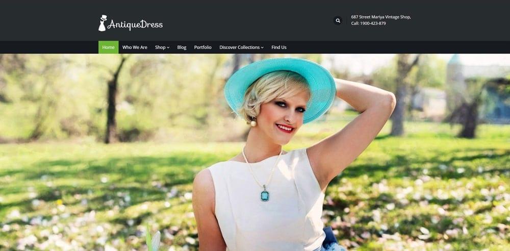 Vintage Theme, Best WooCommerce themes, Clothing Store, WordPress Maintenance, wpaos