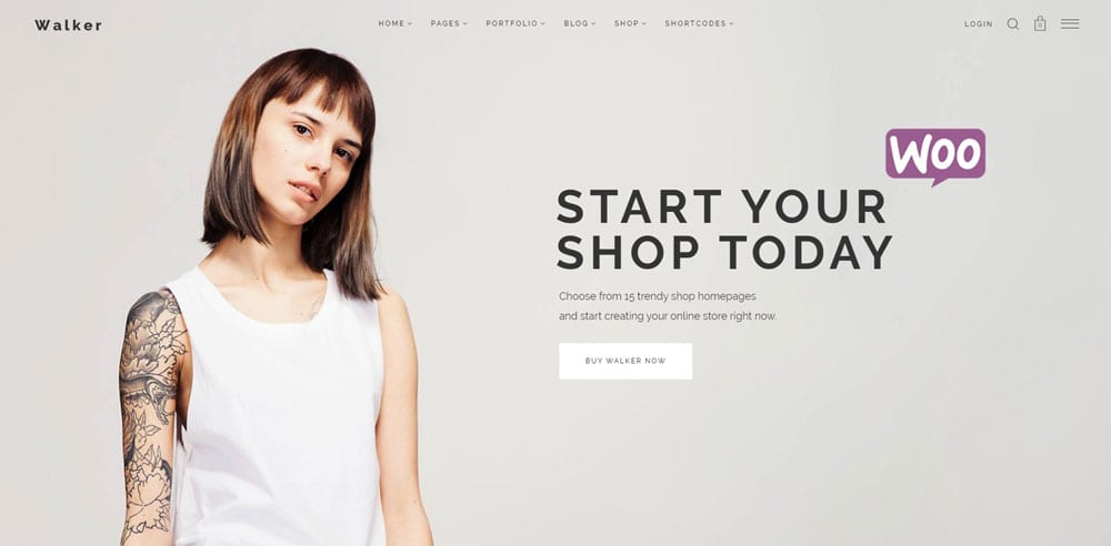 Walker Theme, Best WooCommerce themes, Shoe Shop, WordPress Maintenance, wpaos