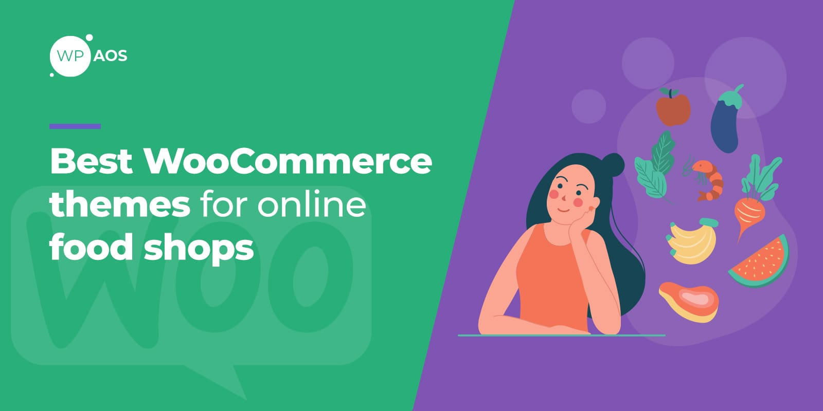 Best WooCommerce Themes for Online Food Shops, wpaos