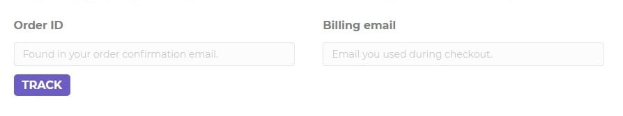 Order tracking, WooCommerce shortcodes