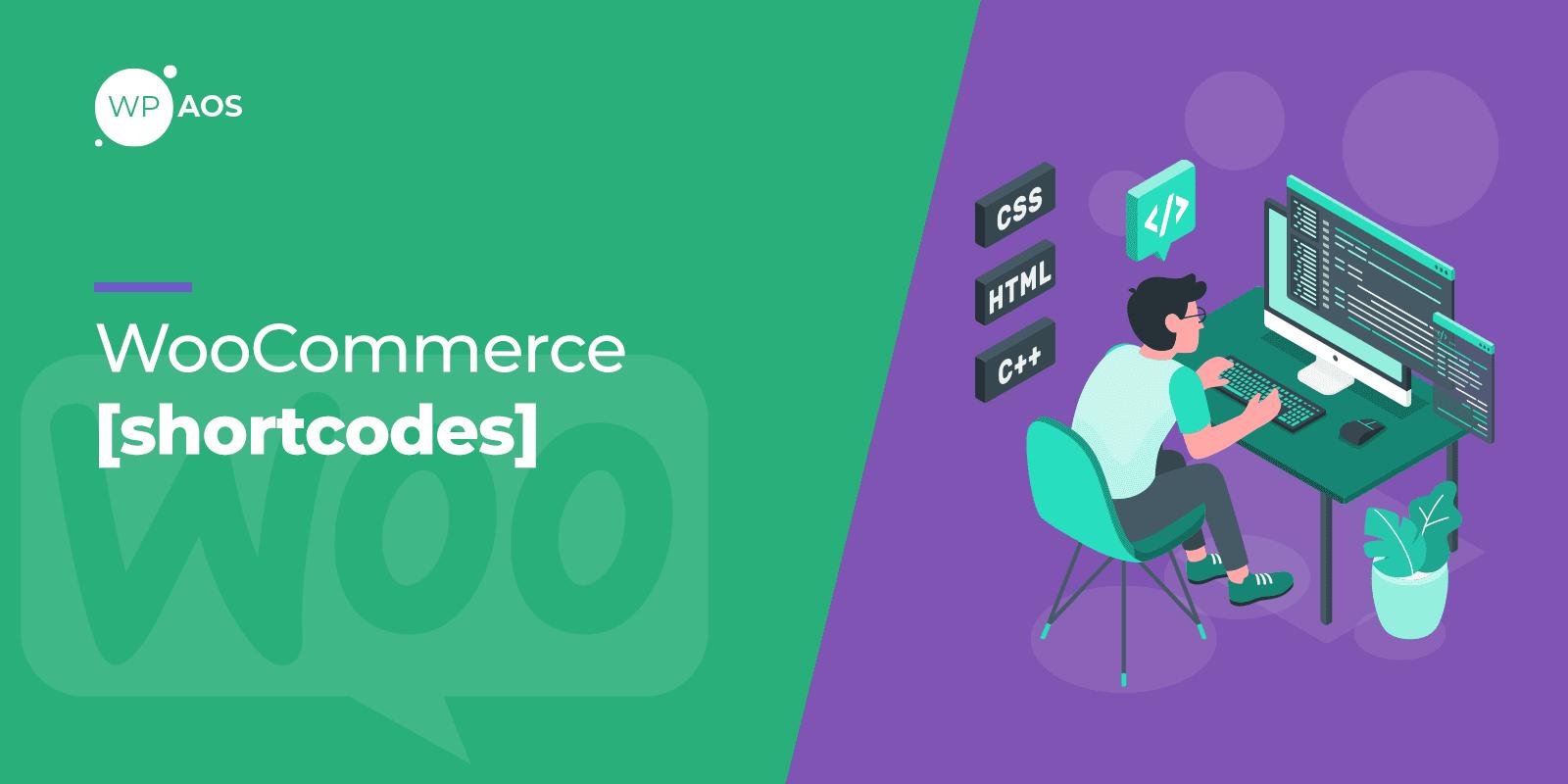 WooCommerce Shortcodes, WordPress Maintenance, wpaos