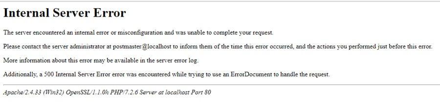 How to Fix 500 Error in WordPress