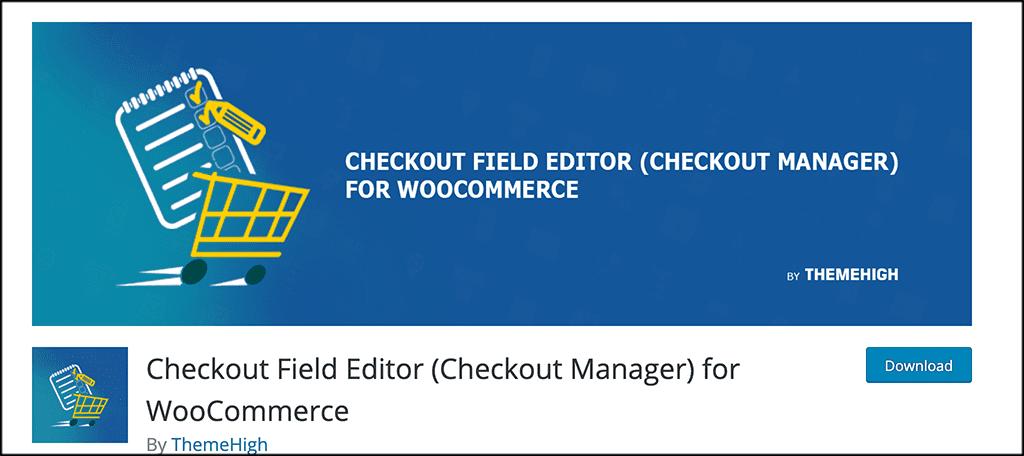 checkout-field-editor-plugin