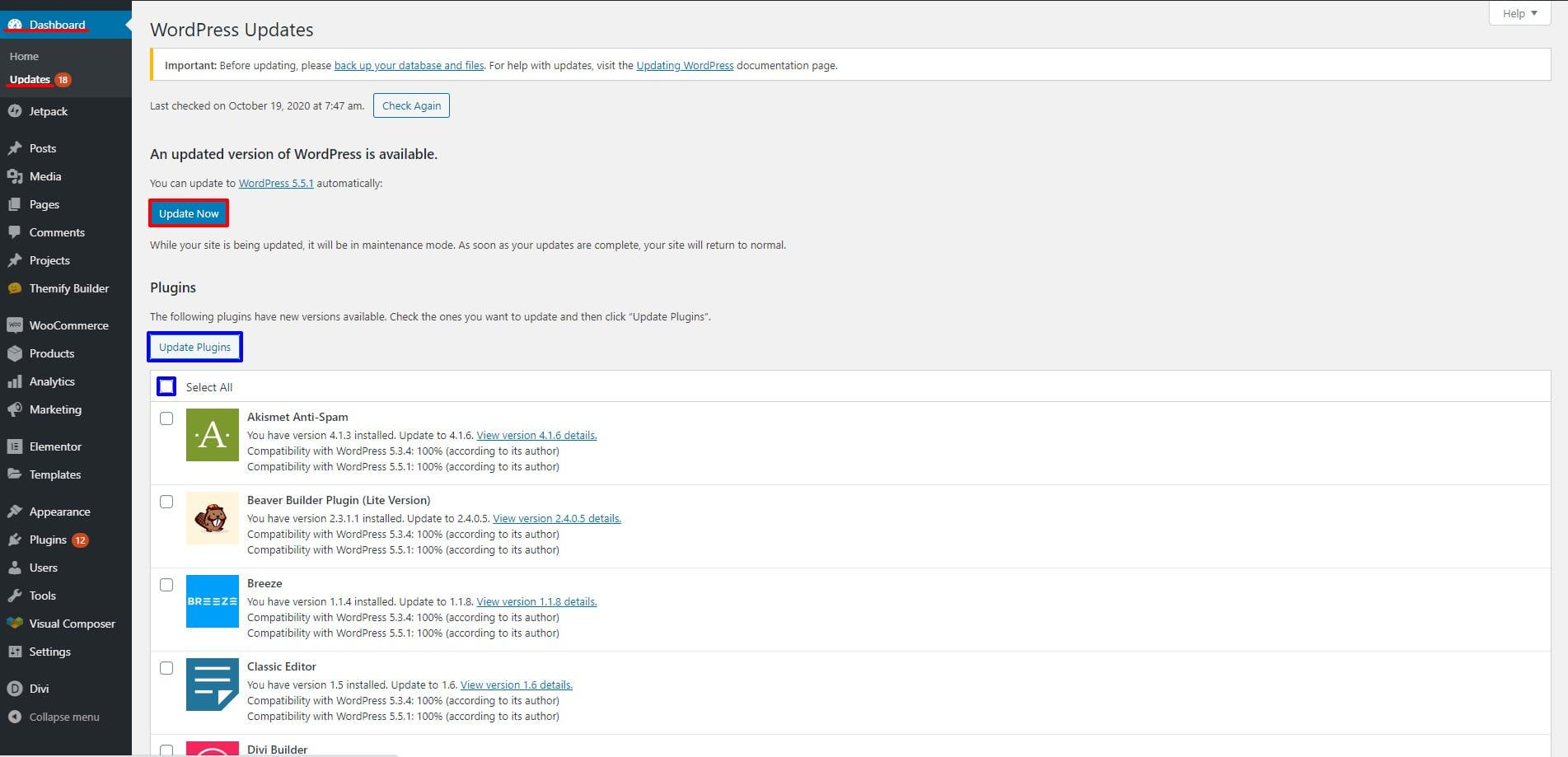 Failed to Load Resource error in WordPress