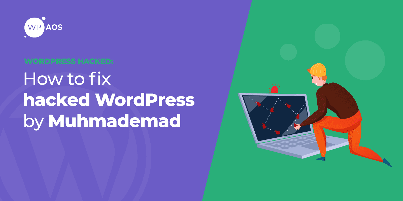 Hacked by MuhmadEmad, WordPress Errors, wpaos
